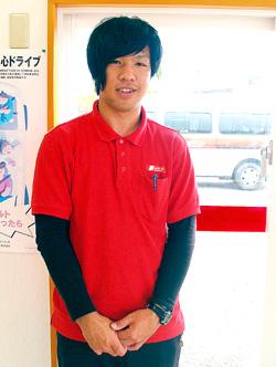 下地奏瑠(そうる)さん(19歳)ニッポンレンタカー空港前営業所
