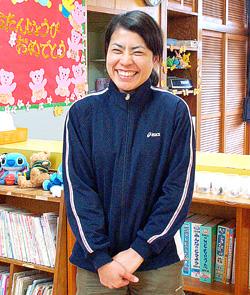 垣花要(かなめ)さん(29歳)多良間村立保育所
