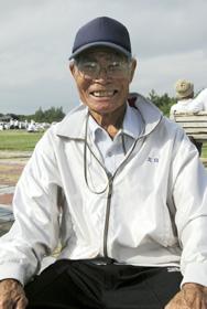 謝敷 正浩さん(83歳)(城辺字福里)