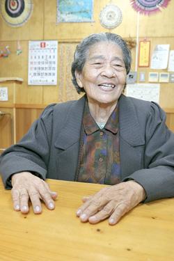 光永 千代さん(89歳)(城辺字砂川)
