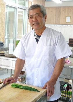 砂川 安男さん(57歳)体験工房「郷土料理」オーナー