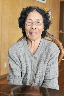 池間トシさん(84歳)(伊良部字前里添)