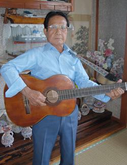 上地 太郎さん(85歳)(伊良部字池間添)