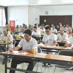 10年度事業計画などを決めた和牛改良組合上野支部の通常総会=25日、上野農村環境改善センター
